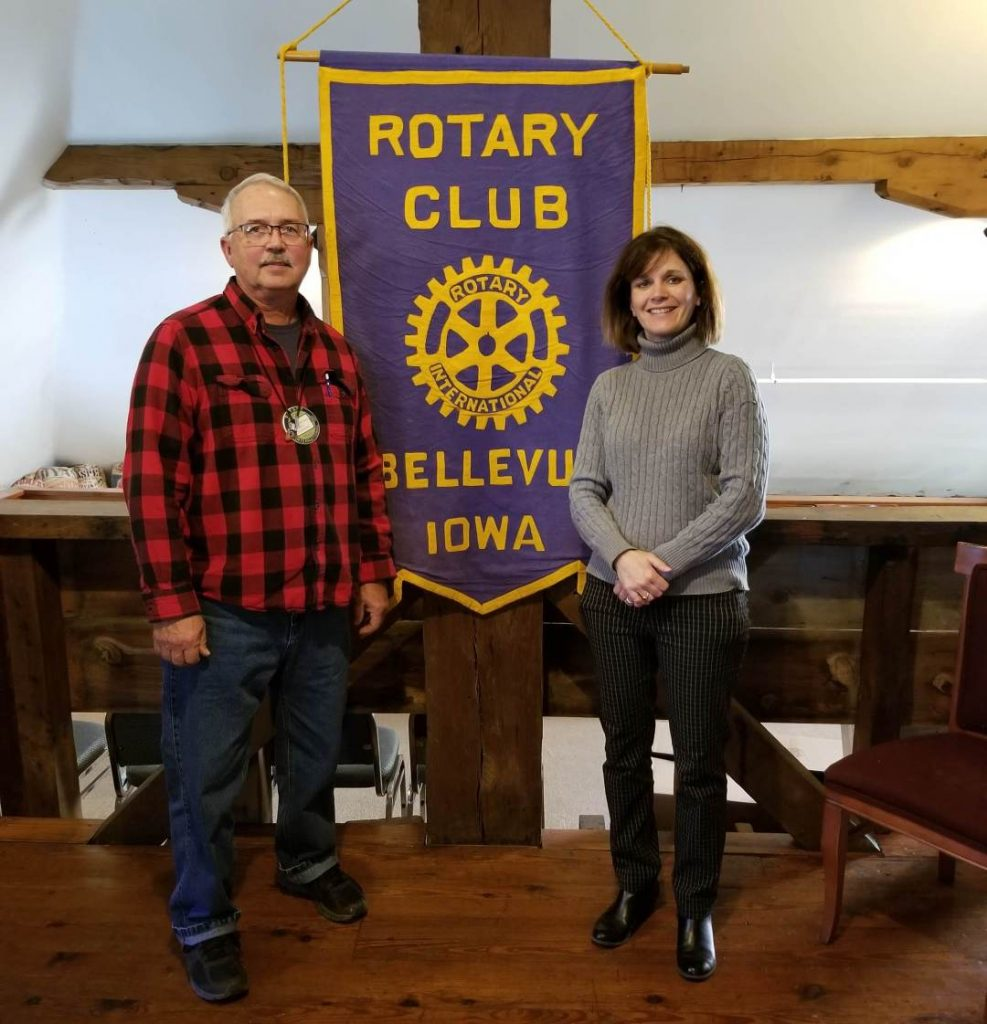 Bellevue Rotary Club learns about the Jackson County Energy District
