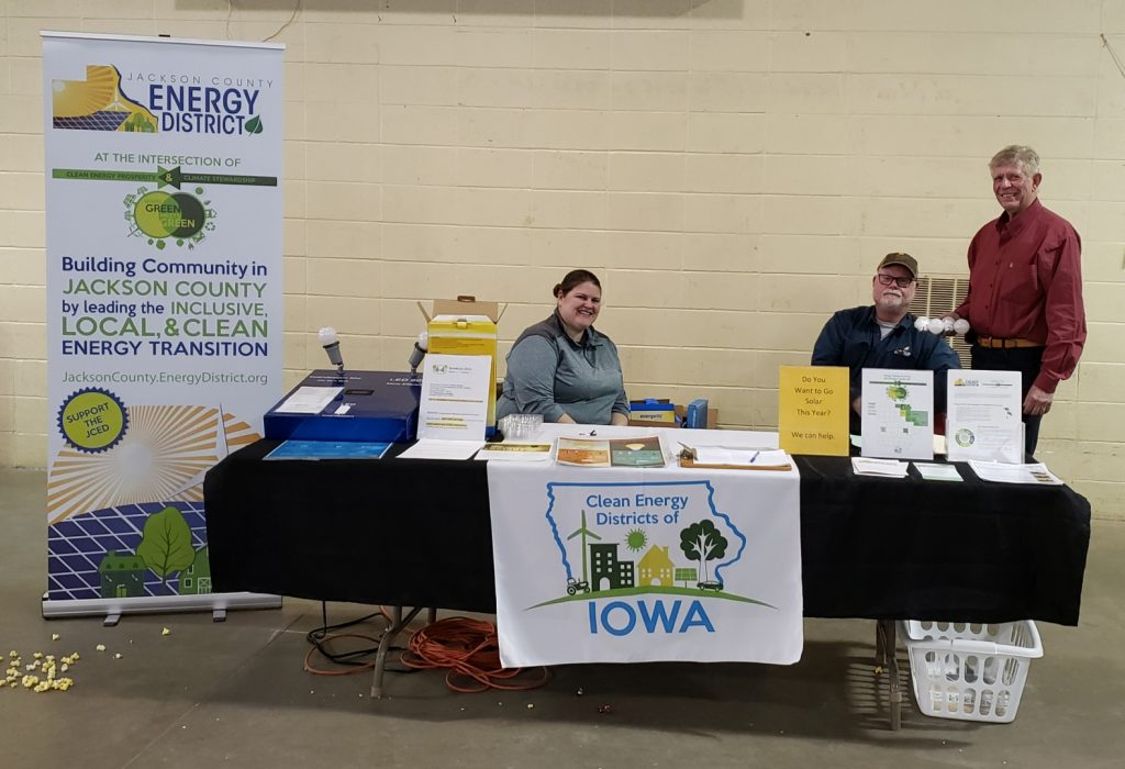 Jackson Co. Energy District participates in the KMAQ Farm and Home Show